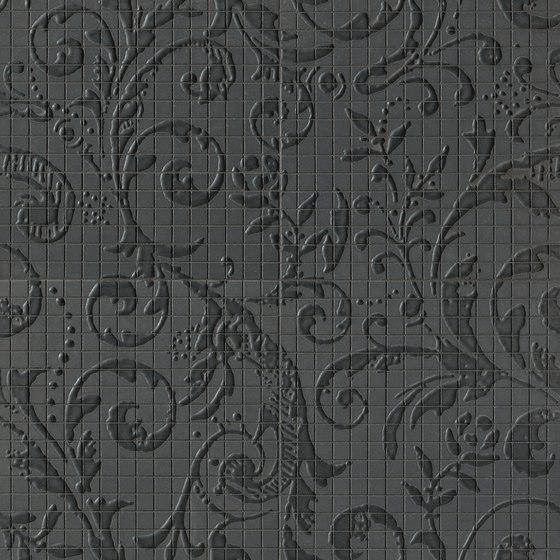 Fap Mosaici Dark Side Damasco Black Matt de Fap Ceramiche | Mosaïques céramique