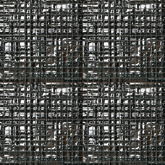 Fap Mosaici Dark Side Cross Silver de Fap Ceramiche | Mosaïques céramique