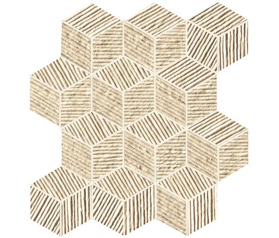 Lumina Glam Almond Cube Mosaico di Fap Ceramiche | Piastrelle