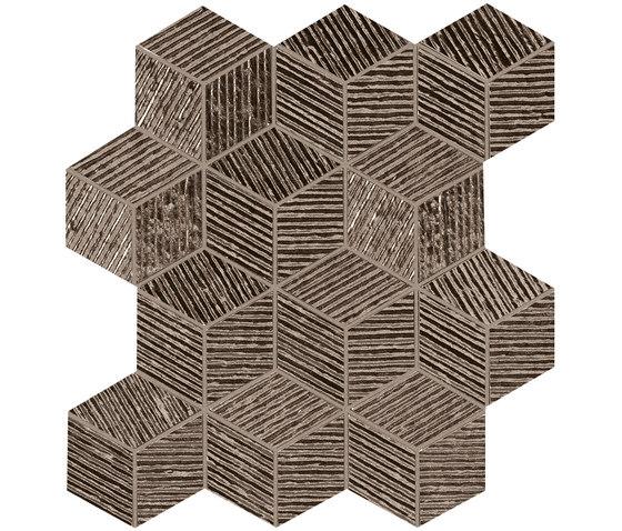 Lumina Glam Caramel Cube Mosaico by Fap Ceramiche | Ceramic tiles
