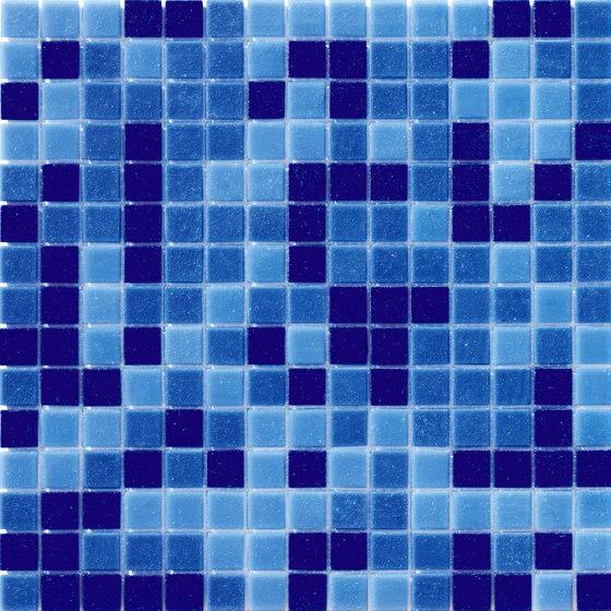 Cromie Aqua 20x20 Avio Mix de Mosaico+ | Mosaïques verre