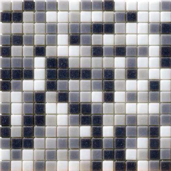 Cromie Aqua 20x20 Grigio Mix de Mosaico+   Mosaïques verre