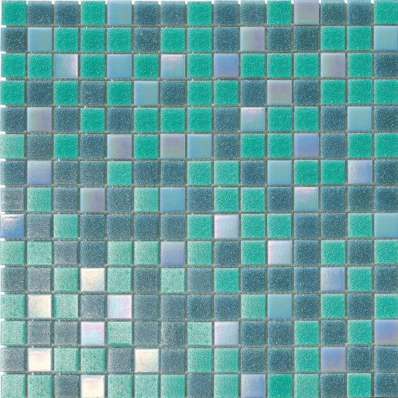 Cromie Aqua 20x20 Mix Tormalina Lux di Mosaico+ | Mosaici vetro
