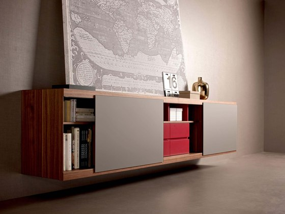 Aliante   Sideboard by Estel Group   Shelving