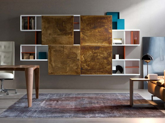 Aliante | Open System by Estel Group | Wall storage systems
