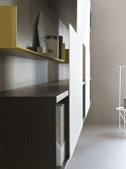 Aliante | Open System by Estel Group | Office shelving systems