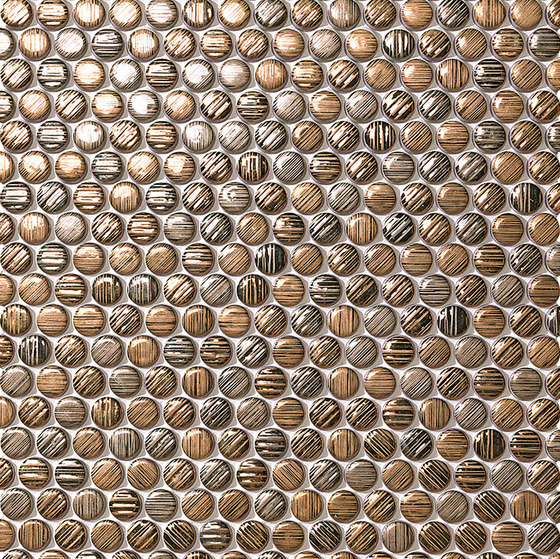 Mek gold circles di Atlas Concorde | Mosaici ceramica
