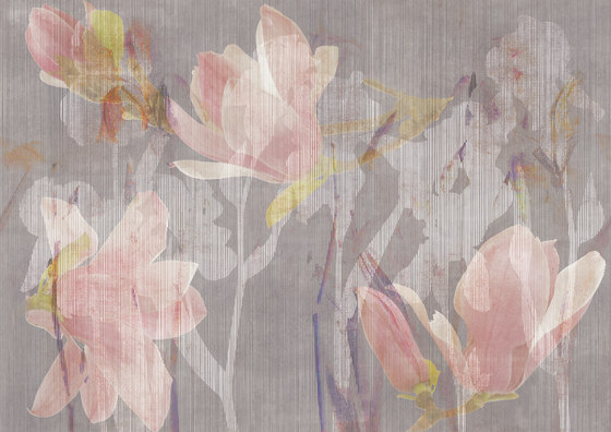 Magnolia colorful by TECNOGRAFICA   Wall art / Murals