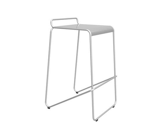 KNST2000-BH-M0 Stool by Maglin Site Furniture | Bar stools