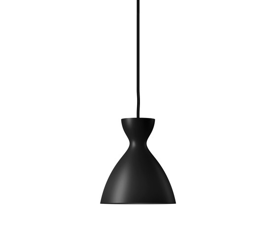 Pretty small pendant light black matt de Nyta | Lámparas de suspensión