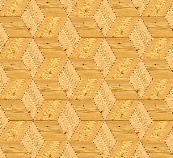 FLOORs Selection Rhombus Larch de Admonter Holzindustrie AG | Suelos de madera