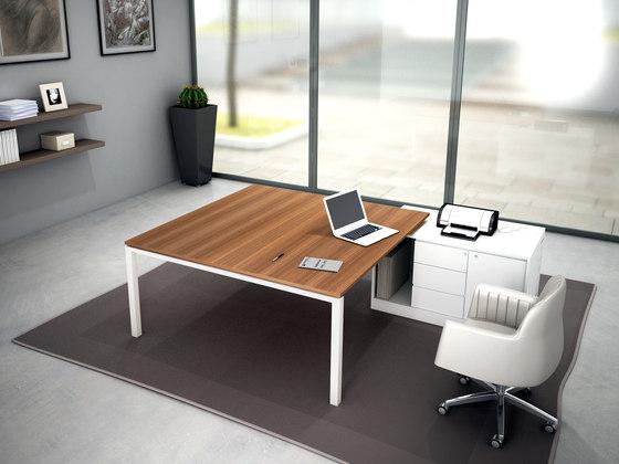 Asterisco IN | Executive Desk di Estel Group | Scrivanie individuali