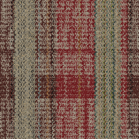 World Woven - Summerhouse Brights Paprika/Natural variation 1 by Interface USA | Carpet tiles