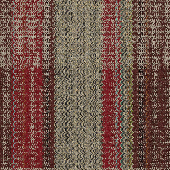 World Woven - Summerhouse Brights Paprika/Natural variation 6 by Interface USA   Carpet tiles