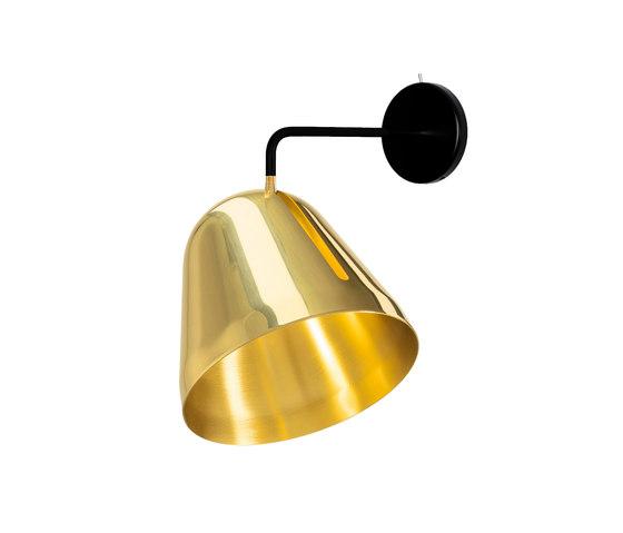 Tilt Wall Brass di Nyta | Lampade parete