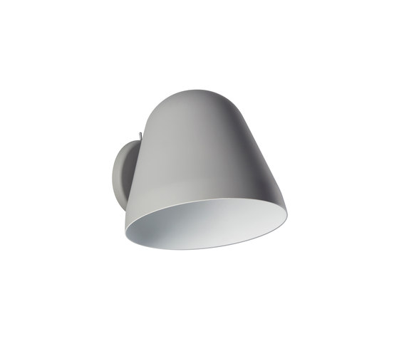 Tilt Wall Short grey by Nyta | Wall lights