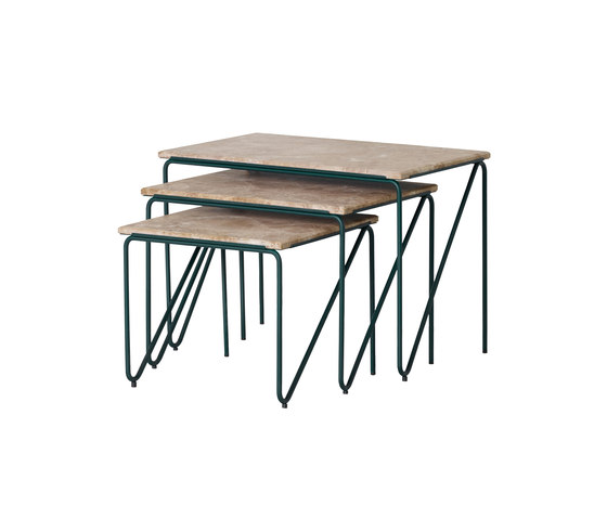 Tryptich Nesting Tables by Please Wait to be Seated | Side tables