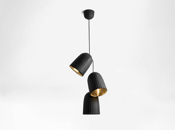 Chains   Triple Pendant Lamp by Petite Friture   Suspended lights