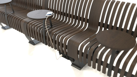 Radius Charger by Green Furniture Concept | Schuko sockets