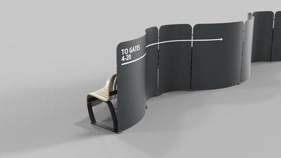 Radius Divider von Green Furniture Concept | Raumteilsysteme