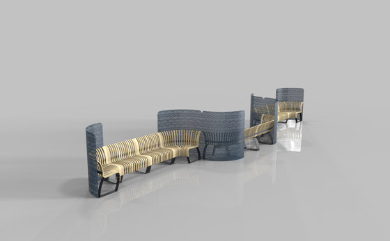 Radius Divider by Green Furniture Concept | Benches