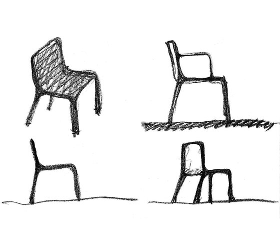 Kes chair von Vondom | Restaurantstühle