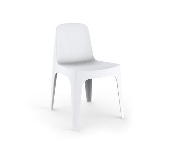 Solid chair by Vondom | Restaurant chairs