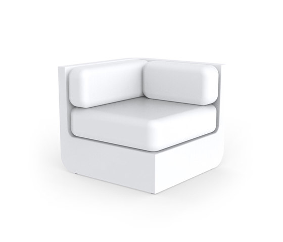 Ulm sectional sofa corner by Vondom | Armchairs
