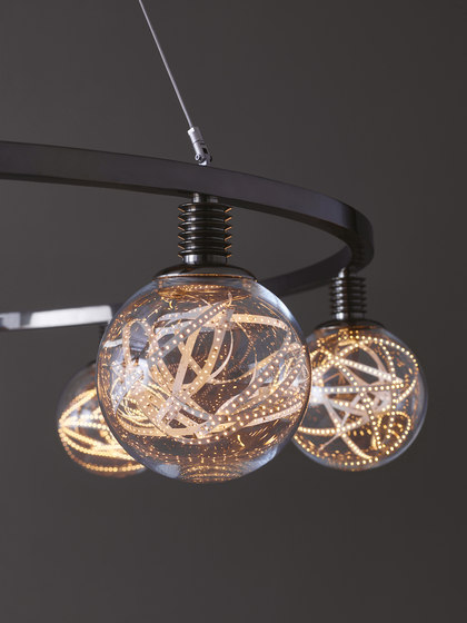 Higgs hanging lamp by Promemoria | Suspended lights