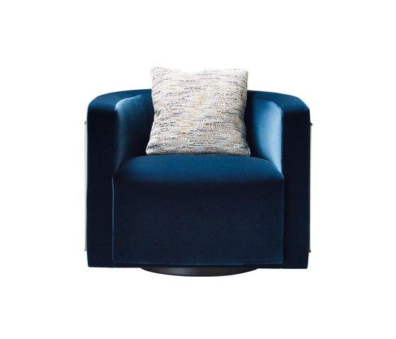 Pervinca swivel armchair de Promemoria | Sillones lounge