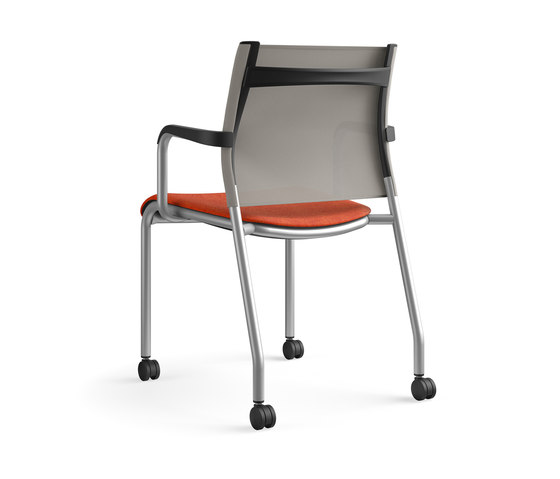 Wit Side | Mesh by SitOnIt Seating | Visitors chairs / Side chairs
