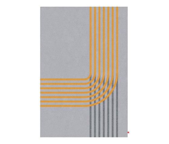 Lines II von FLURSTÜCK | Formatteppiche