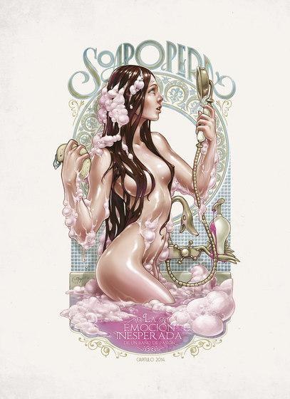 Soap Opera de Inkiostro Bianco | Tejidos decorativos