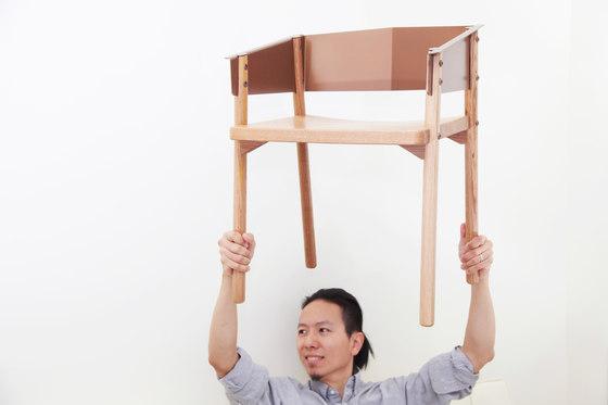 Note Chair di Hyfen | Sedie