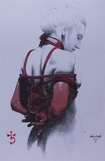 Sara de Inkiostro Bianco   Arts muraux