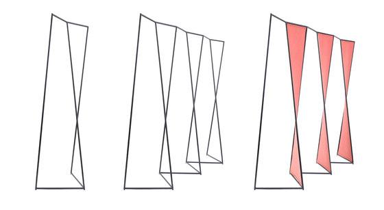 Tilde Rack di Hyfen   Stender guardaroba
