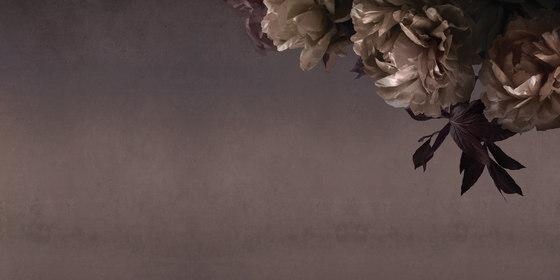Peonia di Inkiostro Bianco | Tessuti decorative
