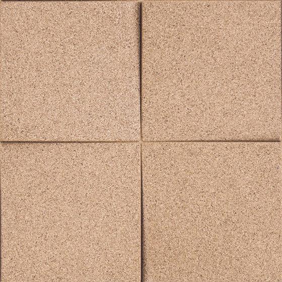 Shapes - Blocks (Ivory) de Architectural Systems | Baldosas de corcho