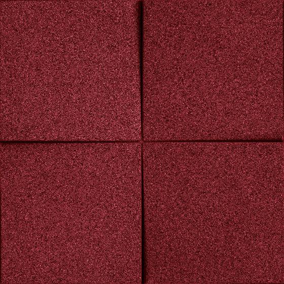 Shapes - Blocks (Bordeaux) by Architectural Systems | Cork tiles