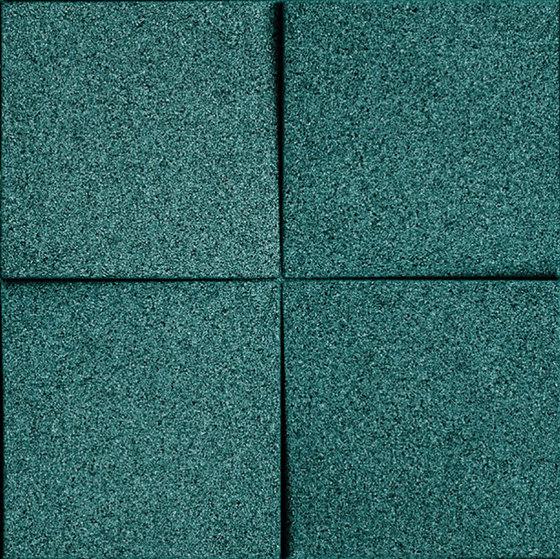 Shapes - Blocks (Emerald) de Architectural Systems   Baldosas de corcho