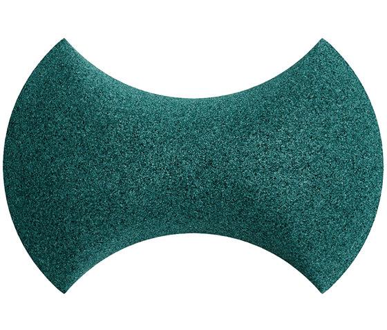 Shapes - Bow Tie (Emerald) de Architectural Systems | Baldosas de corcho