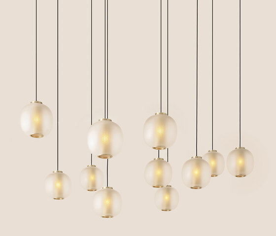 Bloom Pendant - White de Resident | Suspensions
