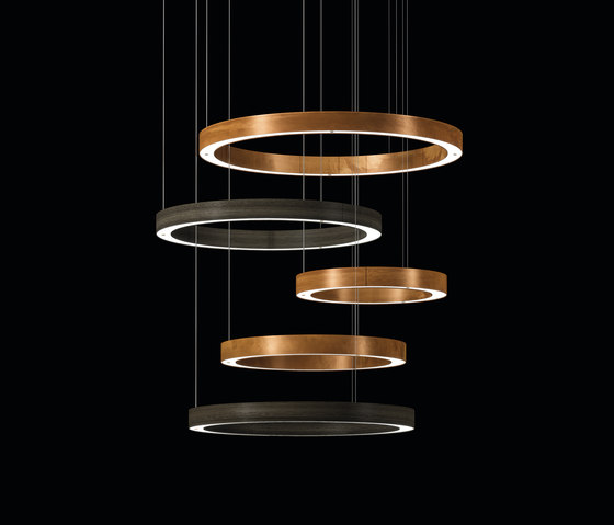 Light 5 Ring Multimateric by HENGE | Suspended lights