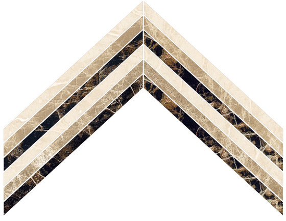 Arrows | Type 02 von Gani Marble Tiles | Naturstein Fliesen