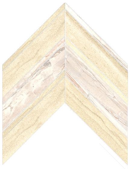 Arrows | Type F 06 de Gani Marble Tiles | Baldosas de piedra natural