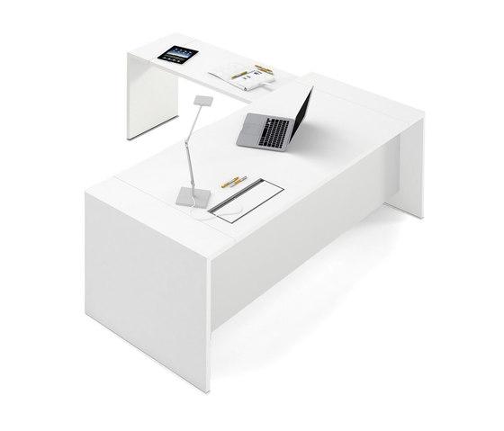 Loop In | Single Desk di Estel Group | Scrivanie