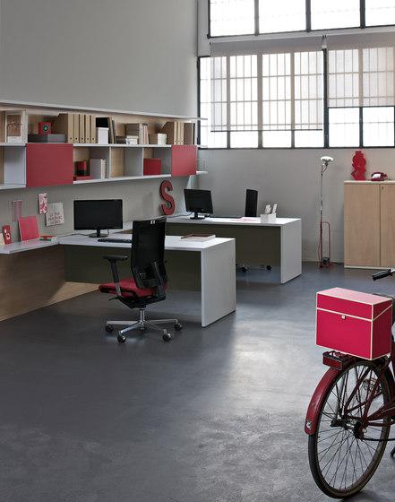 Loop In | Single Desk di Estel Group | Scrivanie individuali