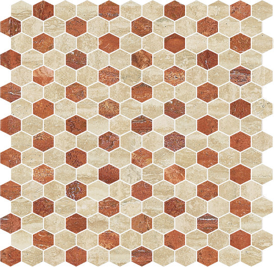 Hexagons | Type B by Gani Marble Tiles | Natural stone tiles