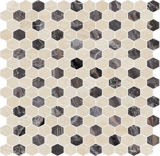 Hexagons | Type C by Gani Marble Tiles | Natural stone tiles