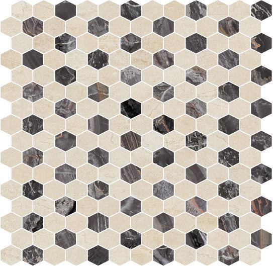 Hexagons | Type C de Gani Marble Tiles | Dalles en pierre naturelle